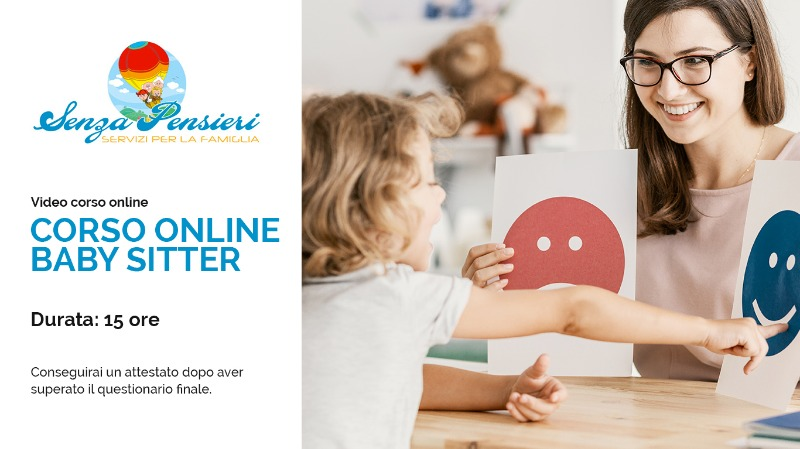 CORSO ONLINE  BABY SITTER